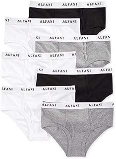 Alfani Men's Cotton Hip Briefs 7-Pack White/Black/Grey