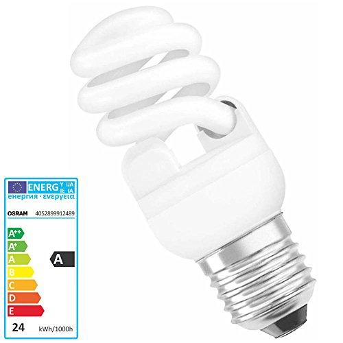 Osram Dulux Pro Micro Twist 24W E27 A Luce comfort calda lampada fluorescente