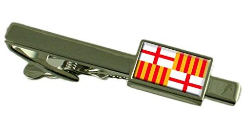 Select Gifts La Ciudad de Barcelona Clip de Corbata Bandera España