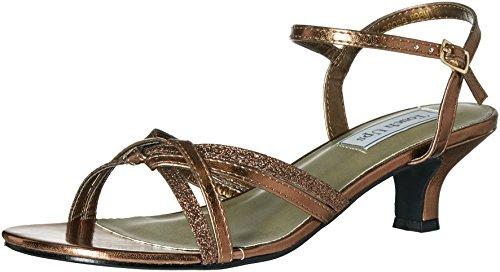 Touch Ups Women's Melanie Dress Sandal, Bronze, 8 M US