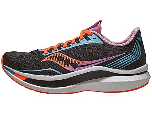 Saucony Women's Endorphin Pro Running Shoe - Color: Future/Black - Size: 9.5 - Width: Regular