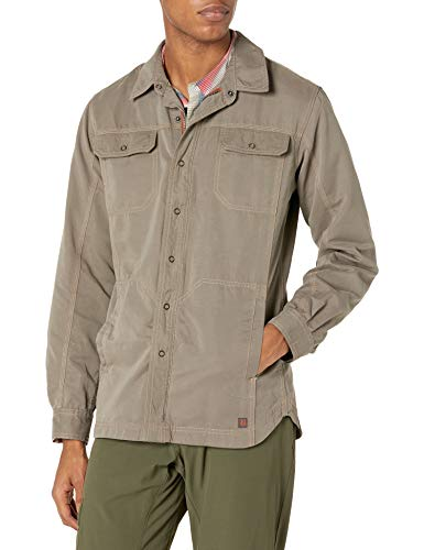 Royal Robbins Chemise Convoy Jack pour Homme Moyen Taupe
