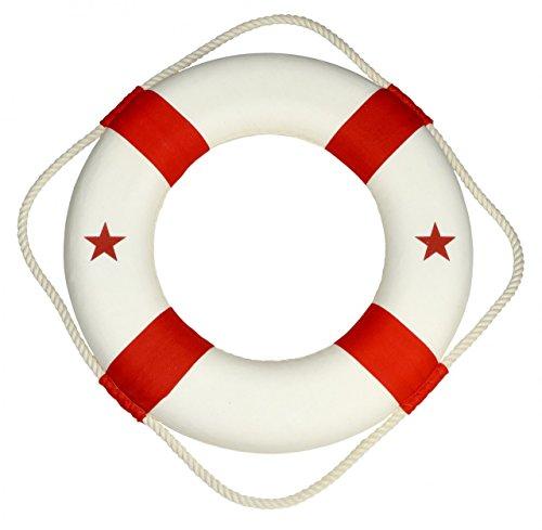 Navyline Deko-Rettungsring mit Anker oder Stern - maritime Dekoration, Ausführung:Stern