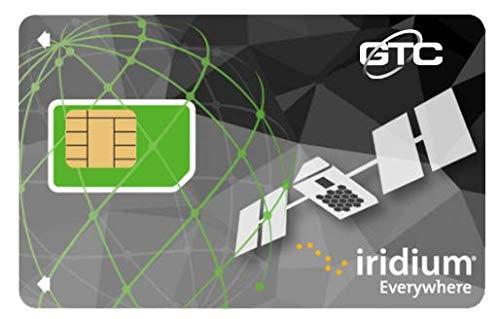 Iridium GO! Prepaid SIM mit 1.000 Minuten Daten / 500 Minuten Stimme.