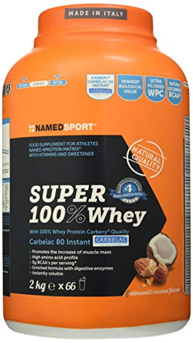 Named Sport Super 100% Whey Coconut Almond - 2Kg