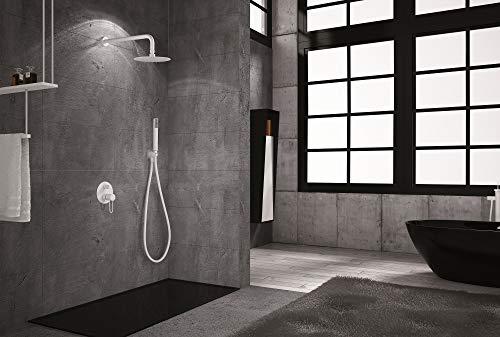 Conjunto de ducha empotrado Imex Milos Blanco GPM029-BL