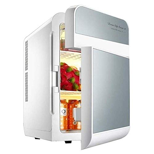 DX Refrigerador de Coche de Doble Voltaje 20L Mini-Nevera Caja de refrigeración...