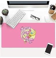 マウスパッドセーラームーン900x400mm大型マウスパッド天然ゴム防水ゲームマウスパッドデスクマットゲームオフィスワーキング E