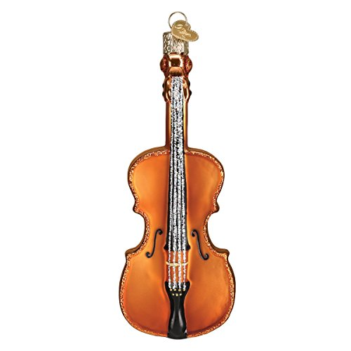 Old World Christmas Musical Instruments Glass Blown Ornaments for Christmas Tree Cello