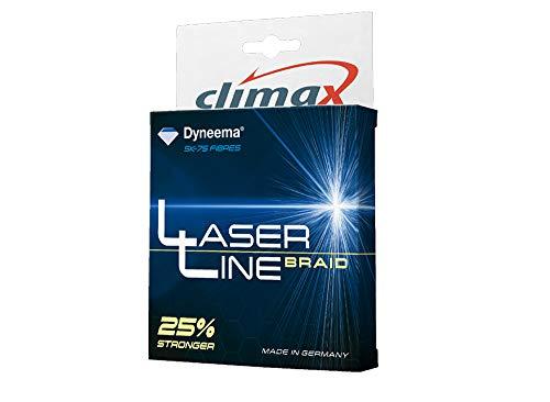 Climax Braided Line Geflochtene Schnüre Laser LINE - 135m - Olive - Verschiedene Massnahmen (0.06mm - 4.5Kg)