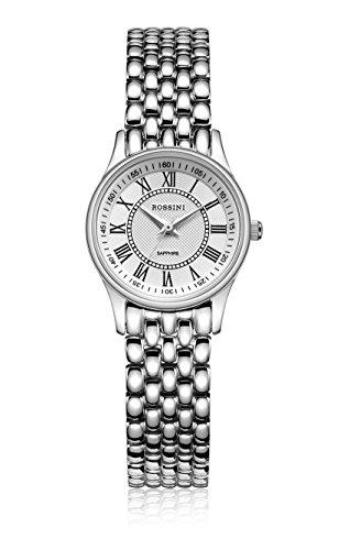 Rossini Damen-Armbanduhr, aus Edelstahl, schlank–ROSLB031