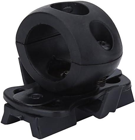 SOONHUA Portable Plastic Torch Mount Flashlight Holder Bracket for Fast Helmet Flashlight Clip product image