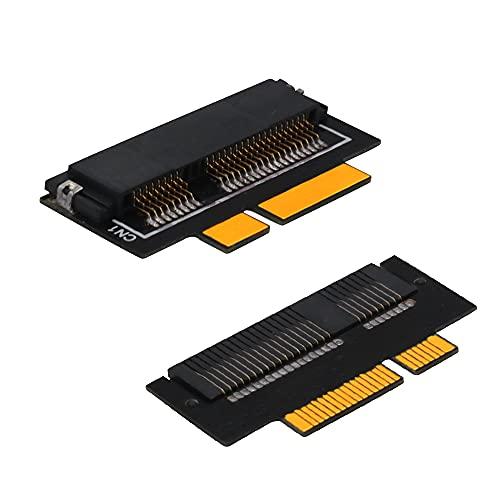 /G Convertidor mSATA SSD a SATA Tarjeta adaptadora de 7 + 17 Pines para MacBook Pro Retina 2012 A1398 A1425 Adaptador SSD de Tarjeta convertidora