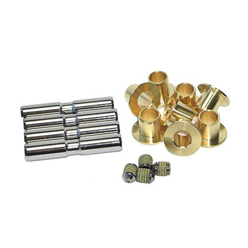 Suntour Unisex– Erwachsene Sattelstütze-2222060600 Sattelstütze, Gold/schwarz, One Size