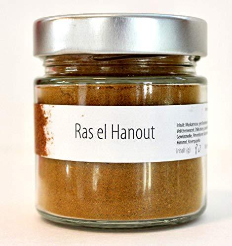 Geropp Gourmet Ras el Hanout 100g im Glas Arabische Gewürzmischung in Premium Qualität