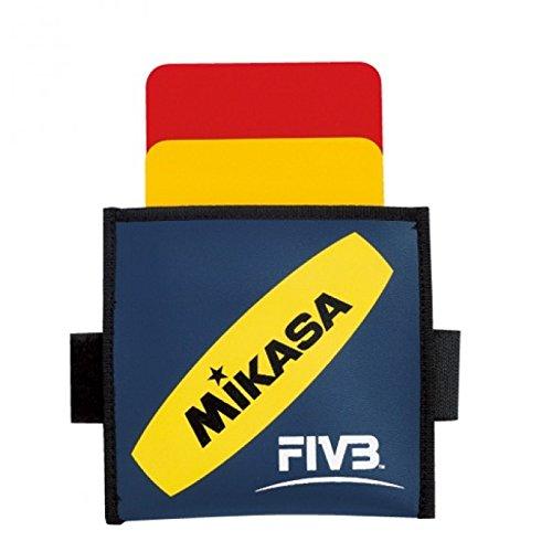 Mikasa Schiedsrichterkarten Vk, rot/gelb, 1973