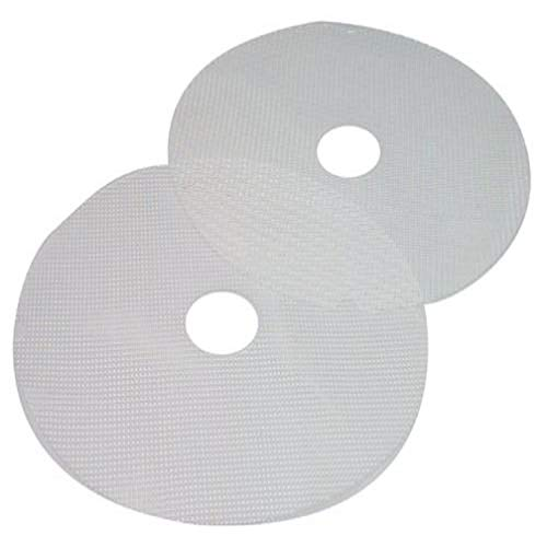 Nesco MS-2-6 Clean-a-Screen for Dehydrators FD-1010/FD-1018P/FD-1020, Large, Set of 2