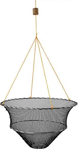 Storfisk fishing & more Krebsteller Krebs Reuse mit Futterteller und Ködernadel Krebskorb Krebsfalle, Durchmesser:Ø 40 cm