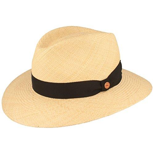 Mayser Orginal Panama-Hut | Stroh-Hut | Sommer-Hut aus Ecuador – Handgeflochten, UV-Schutz 30 BZW 80, Wasserabweisend, Bruchschutz