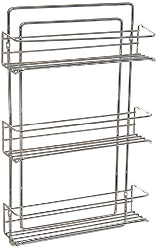 Organize It All 1812W Spice Rack, Chrome