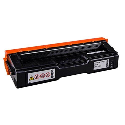 Ricoh 407543 - Cartucho de tóner láser, color negro
