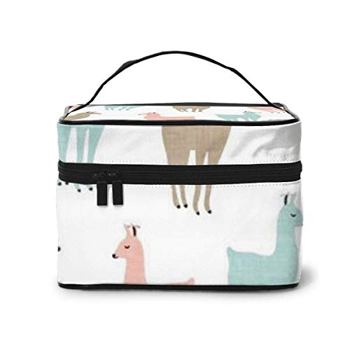 Deers Travel Cosmetic Case Organizer Portable Artist Storage Bag, Multifunction Case Toiletry Bags for Women