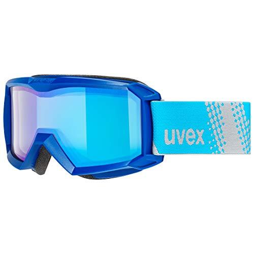 uvex Unisex Jugend, flizz FM Skibrille, blue, one size