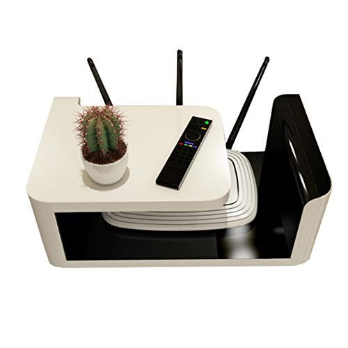 TLMY Wall Mount Beugel/Beugel/Beugel TV Box Apple TV Router Set-top Box Mini PC TV Accessoires Drijvend Game Console Wandmontage TV stand
