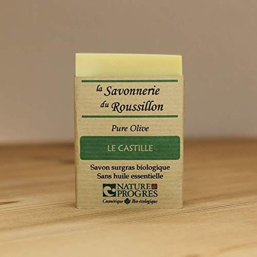 Savon à froid Surgras Bio - Pure Olive - Le Castille