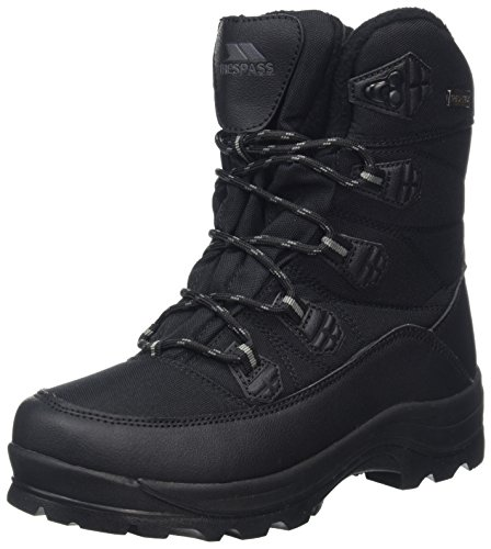Trespass Zotos Gummistiefel, Schwarz (Black), 37 EU