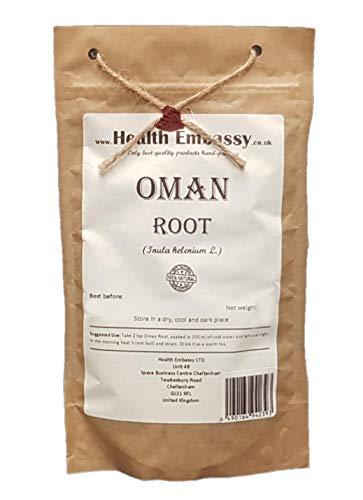 Health Embassy Echter Alant Wurzel (Inula Helenium L) / Oman/Elecampane Root, 100g