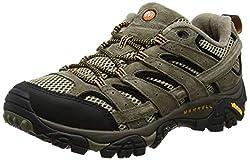 Merrell Men's Moab 2 Vent Trekking & Hiking Shoes, Brown (Pecan), 44.5 EU