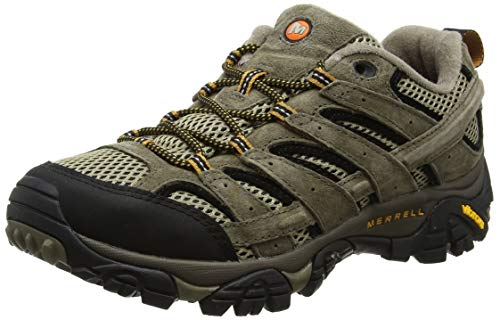 Merrell Men's Moab 2 Vent Low Rise Hiking Boots, Brown Pecan, 10.5 UK