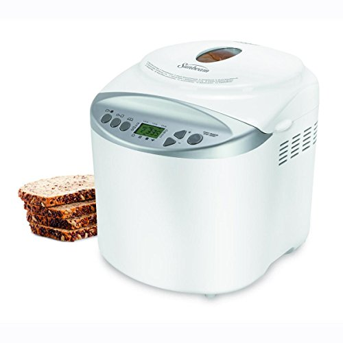 Sunbeam 2-Pound Bread Maker with Gluten-Free Setting, White - CKSBBR9050-033