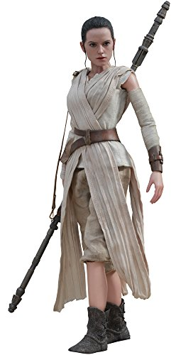 Hot Toys MMS336 Star Wars The Force Awakens Rey Figur 28 cm