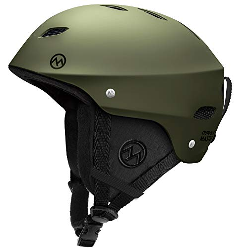 OutdoorMaster KELVIN Ski Helmet - with ASTM Certified Safety, 9 Options - for...