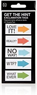 NPW-USA Exclamation Get The Hint Sticky Note Tags