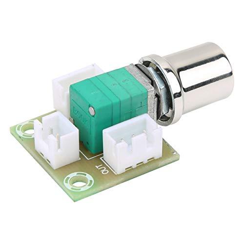 Dgtrhted Double 50K con placa de potenciómetro Módulo de placa de control de volumen con base de terminal