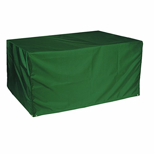 Bosmere Products Ltd Housse de protection pour table de jardin rectangulaire - 4 places - 71 x 79 x 130 cm