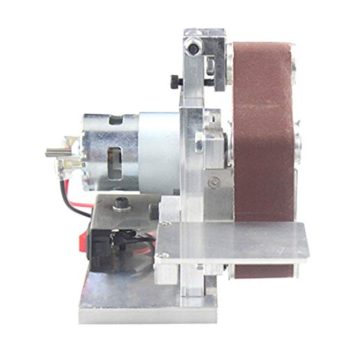 LHFSM Grinder Multifuncional Mini Cinturón eléctrico Sander DIY Pulido Máquina de Pulido Cortador Bordes Afilador (Color : Type 30 Belt Sander)