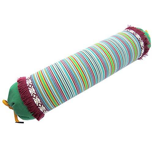 Cuello Almohada De Trigo Sarraceno Reparar Almohada Para Adultos La Columna Cervical Almohadas Ortopédicas Para Dormir Con Funda Algodón Extraíble Para Dormir,Green