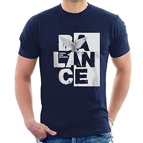 ZWSZD Armin Van Buuren Balance T-Shirt Progressive Trance Navy Blue S