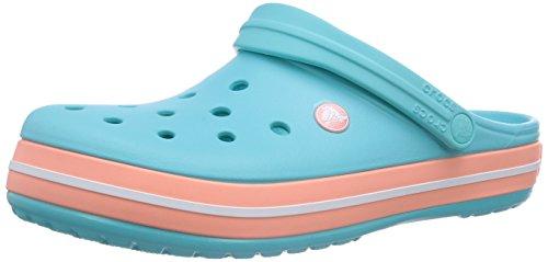 Crocs Croc Band Clog, Sabots Mixte Adulte, Bleu (Pool/Melon), 42/43 EU