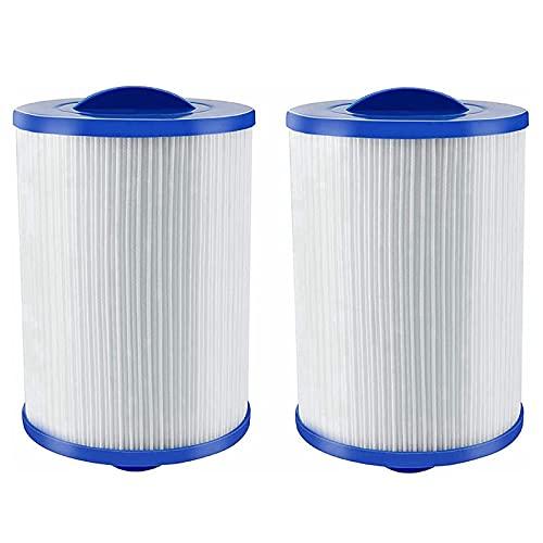 2 cartuchos de filtro de spa, filtro de spa para Unicel 6CH-940, para Pleatco PWW50 Whirlpool, cartuchos de filtro para filtro de repuesto Jacuzzi, spa, tienda de jacuzzi