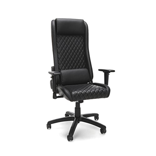 RESPAWN 115 Racing Style Gaming Chair, in Black (RSP-115-BLK)