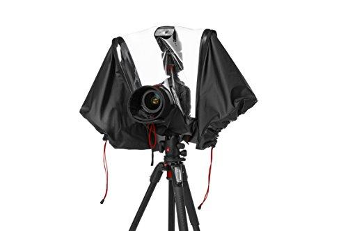 Manfrotto MB PL-E-705 Serie Pro-Light Copertura Antipioggia per Fotocamera DSLR, Nero/Antracite