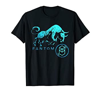 Fantom Crypto BULLRUN HODL FTM to the Moon! dAPPS Blockchain T-Shirt