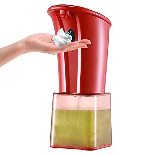 Dispensador de jabón automático de 280 ml Dispensador de jabón de espuma infrarrojo manos libres sin contacto dispensador de jabón plato loción de espuma gel para baño e higiene del hogar