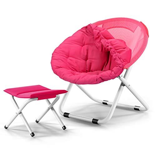 Lw outdoor opklapbare campingstoel, uitneembare opvouwbare zonne-lounge, ligstoel, strand, ligstoel, terras, camping
