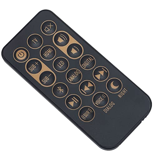 New Replacement Remote Control fit for Klipsch Sound Bar Speaker RSB-3...